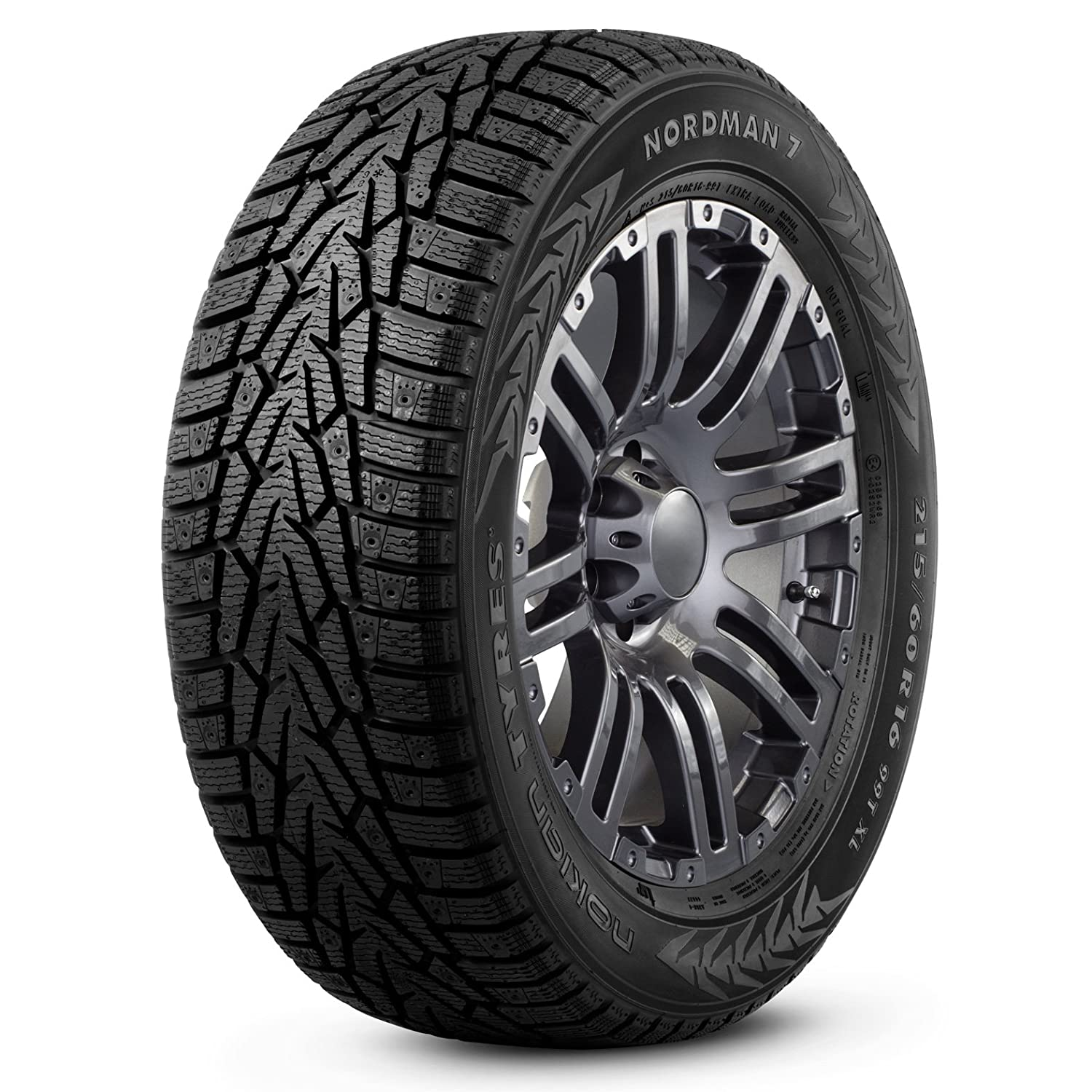 Nokian NORDMAN 7 Performance-Winter Radial Tire-205/65R16 99T T430335