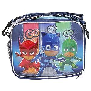 Disney PJ MASKS Go GO GO Gekko Catboy Owlette Soft School Lunch Kit Bag Box