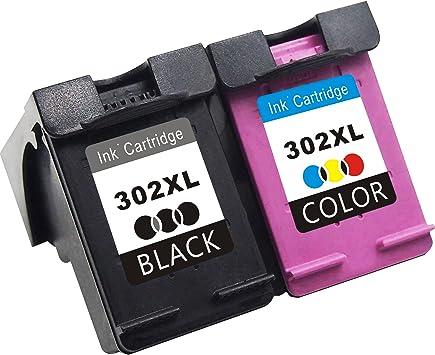 TooTwo Remanufacturado Reemplazo para HP 302 XL Cartuchos de Tinta (1 Negro, 1 Tricolor) Compatiable con HP DeskJet 1110 1115 2130 2132 3630 3632 3633 3635: Amazon.es: Electrónica