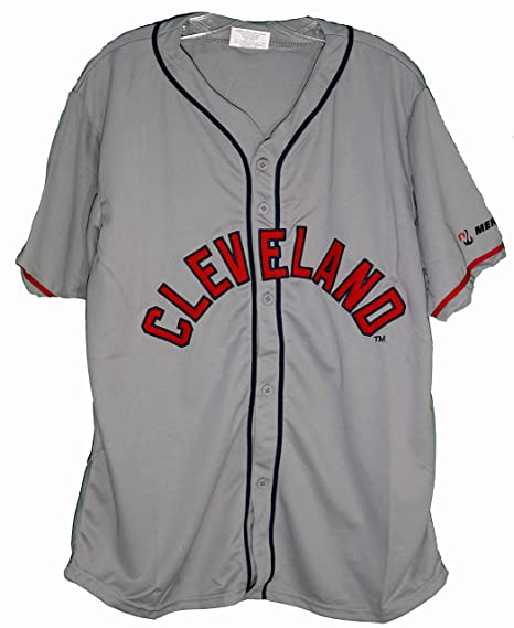 competitive price b1004 7db5d 1948 Cleveland Indians Replica Gray Jersey SGA 9-1-18 at ...