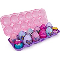 12-Pack Hatchimals CollEGGtibles, Cosmic Candy Limited Edition Secret Snacks Egg Carton