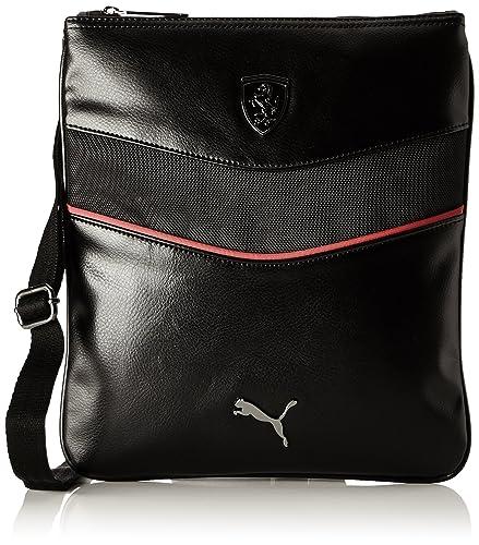 63afeeee50 Puma Ferrari Ls - 073938 - town bum bag black Size  One size  Amazon ...