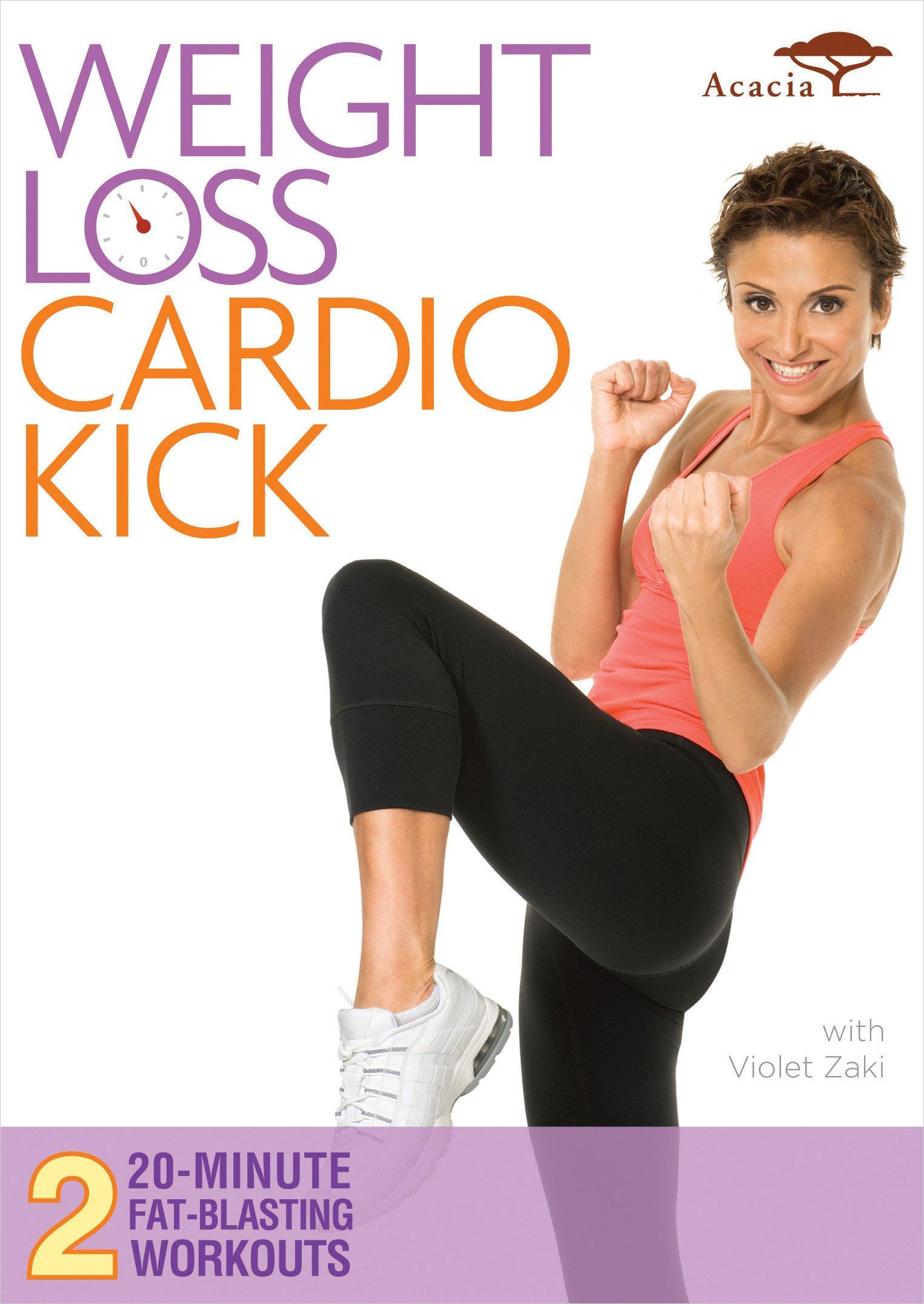DVD : Weight Loss Cardio Kick (DVD)