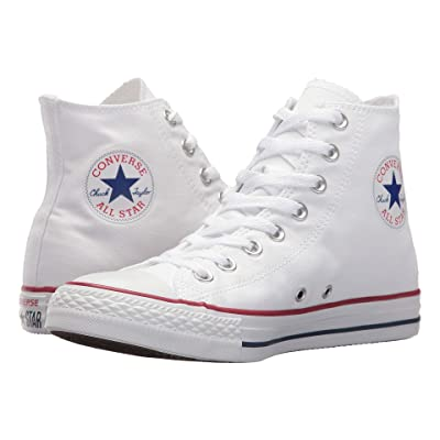 Converse Unisex Chuck Taylor All Star Hi Top Optical White Sneaker | Fashion Sneakers