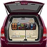 BackSeat/Trunk Organizer By Lebogner - 5 Pocket Auto Interior, Perfect Car Organizer, Trunk Organizer, Backseat Organizer, Multipurpose Cargo Accessories Organizer, Back Seat Storage Organizer