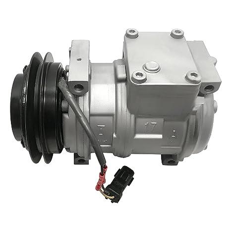 RYC - Compresor de CA remanufacturado y embrague A/C GG305