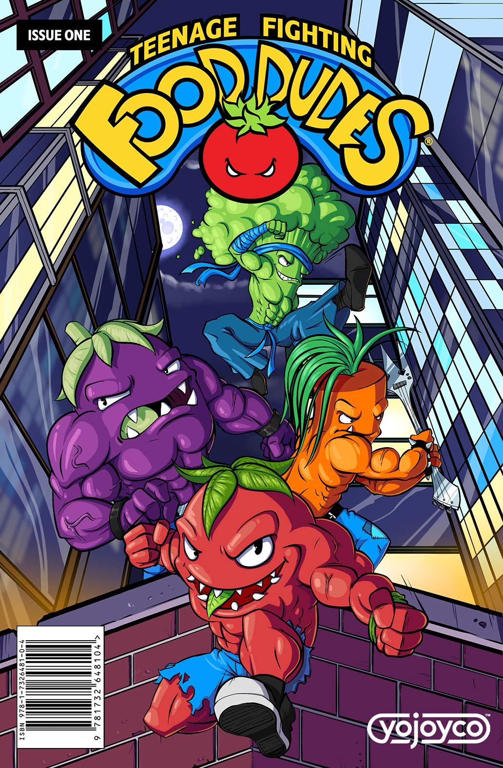 Teenage Fighting Food Dudes 1 From The Ground Up Yojoyco
