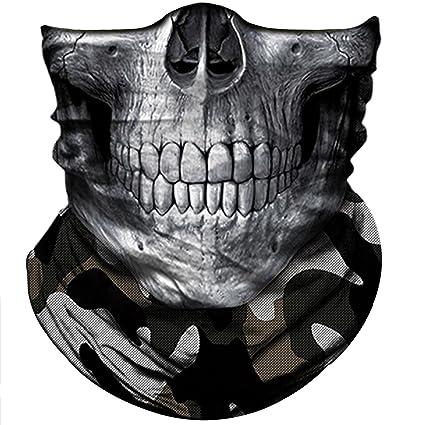 Amazoncom Obacle Skull Mask For Men Women Skull Bandana Skull