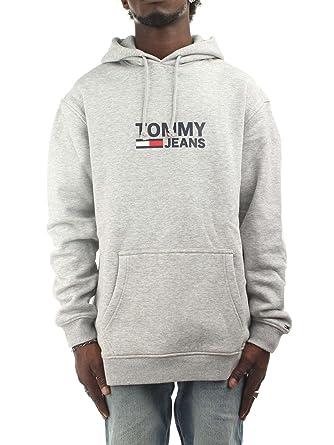 Tommy Hilfiger DM0DM05253038 Sudaderas Hombre Gris XS: Amazon.es: Ropa y accesorios