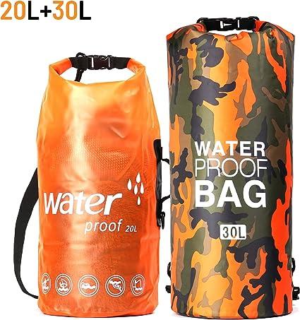 Outdoor Waterproof Dry Bag Storage Pouches Sack Hiking Boating Kayak Camping Bag