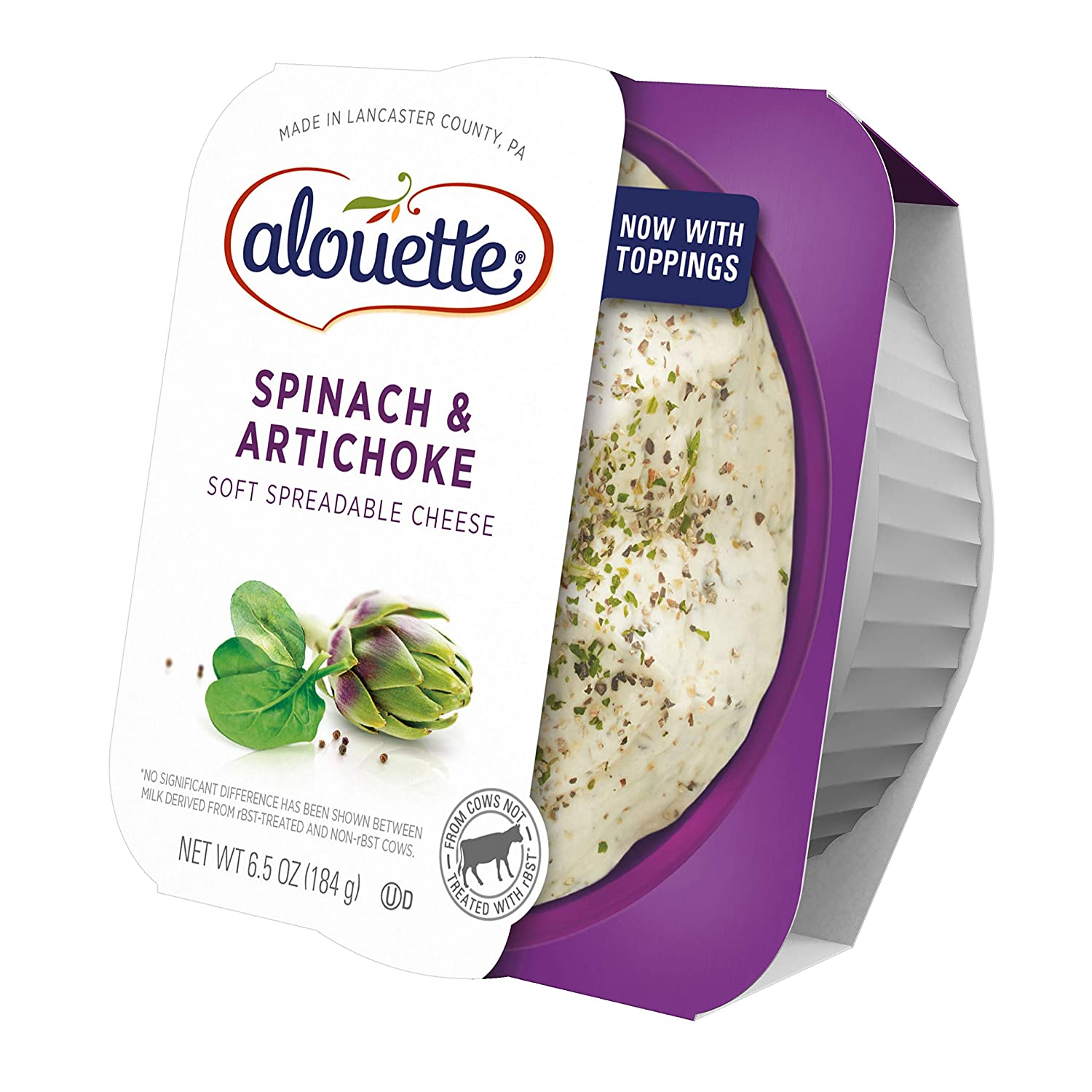 Alouette Spinach Artichoke 6 5 Oz Amazon Com Grocery Gourmet Food