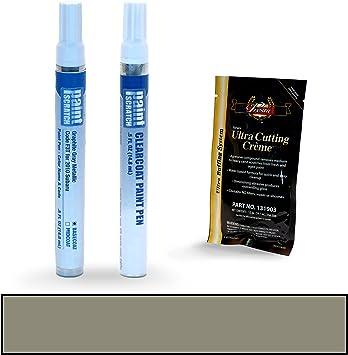 Primer /& Clearcoat Kit 2013 Subaru Legacy F3T Graphite Gray Metallic  Pen
