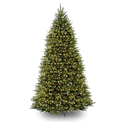 10' Pre-Lit Dunhill Fir Artificial Christmas Tree - Clear Lights - Amazon.com: 10' Pre-Lit Dunhill Fir Artificial Christmas Tree
