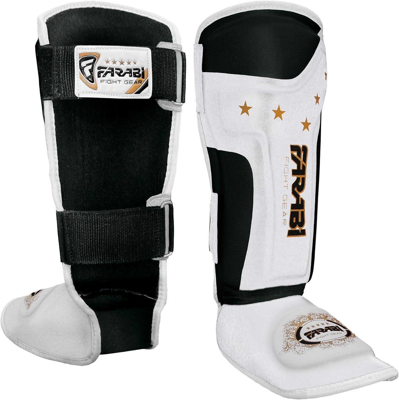Farabi Shin Instep,Shin Guard Kick Boxing Training Pads