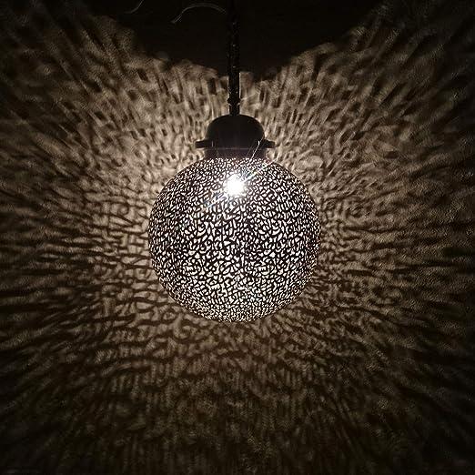 Lámpara de bola de caligrafía dorada, diámetro de 40 cm, diseño ...