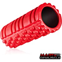 Foam Roller for Sport Massage Therapy - Best Massage Tool for Deep Tissue Massage, Myofascial Release, Muscle Pain and Stiffness Relief - with *Free* Ebook Instructions (13 inch)