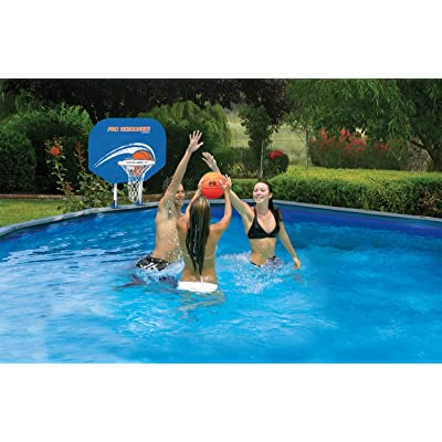 Poolmaster Swimming Pool Basketball and Volleyball Game Combo, Above-Ground Pool: Toys & Games