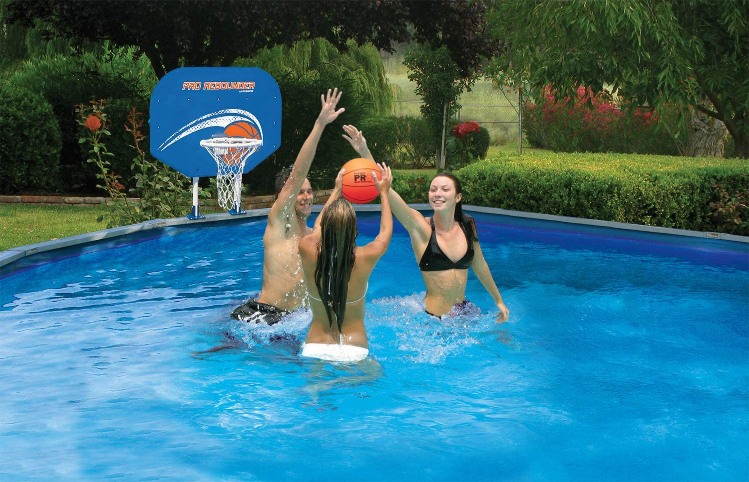 Pool Master Pool Volleyball & Basketball Playset