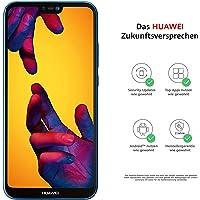 Huawei P20 lite Smartphone Bundle (14.83 cm (5.84 Zoll), 64GB interner Speicher, 4GB RAM, Android 8.0) Dunkel Blau + gratis Intenso 16 GB Speicherkarte [Exklusiv bei Amazon] - Deutsche Version