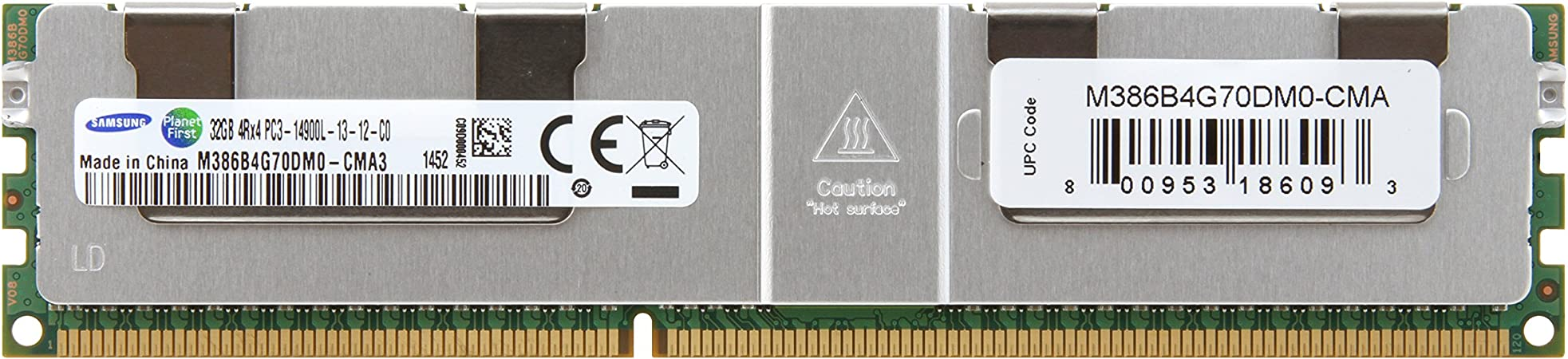 M386B4G70DM0-CMA3 32GB PC3-14900L 1866MHz LRDIMM SERVER MEMORY