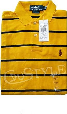 Ralph Lauren Polo S Rayas Amarillo Negro: Amazon.es: Ropa y ...