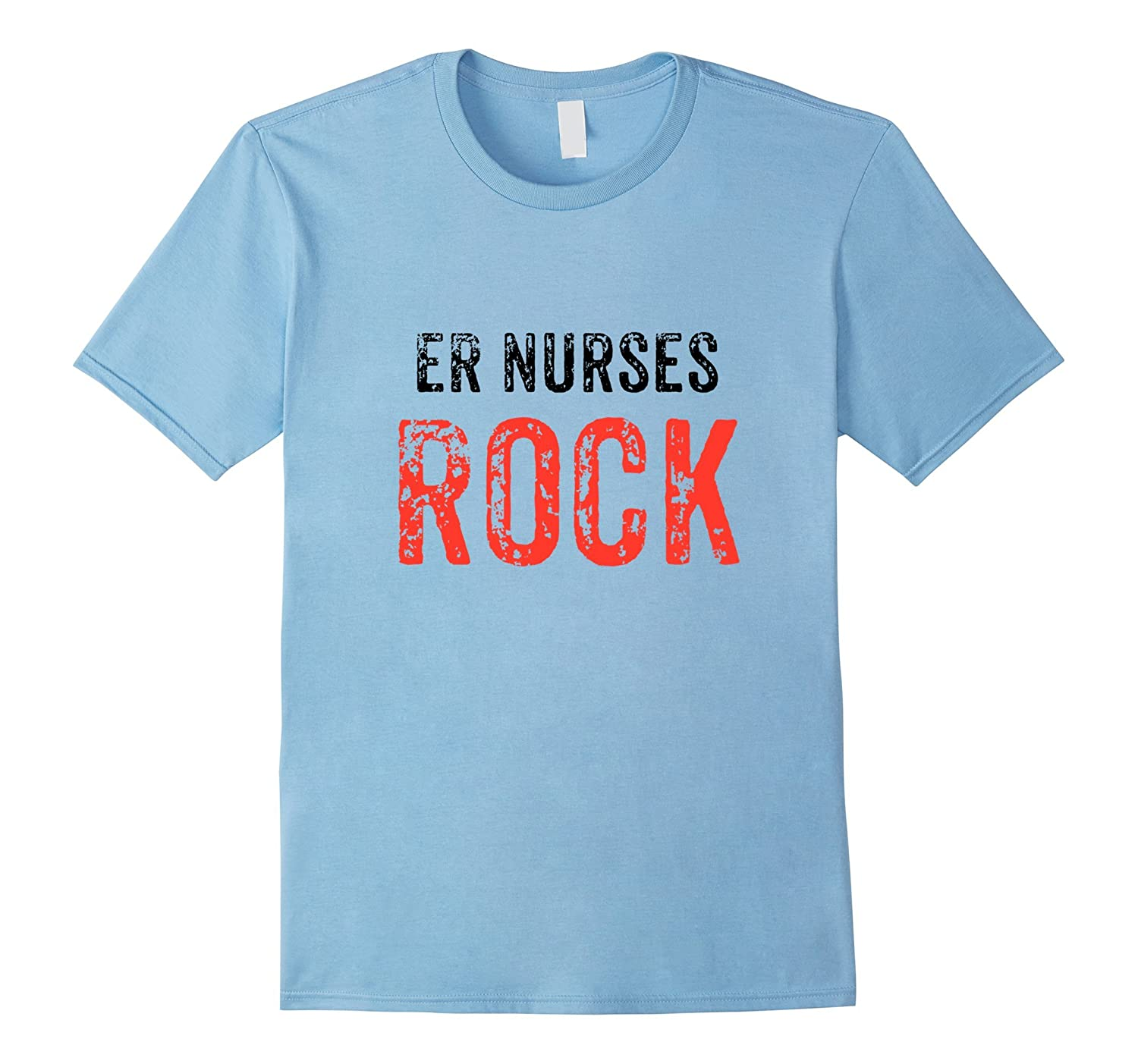 ER Nurses Rock T-Shirt for Emergency Room RNs and LPNs-FL