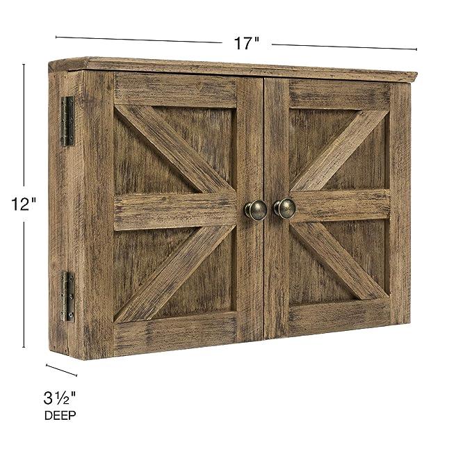 Amazon.com: Tablero de tiza y corcho para puerta de granero ...
