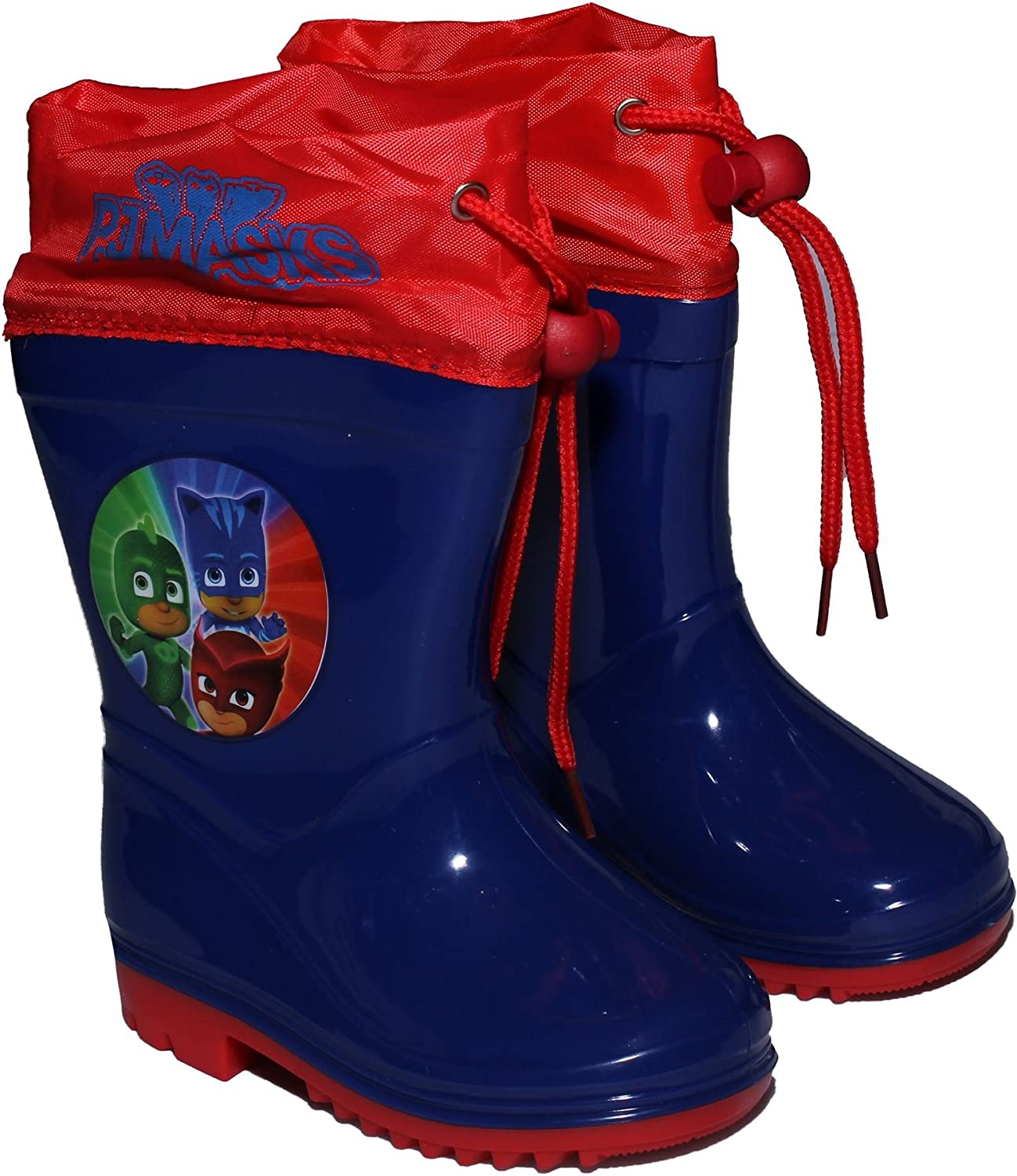 Amazon.com: PJ MASKS Childrens Gekko Owlette and Catboy Wellington Rain Boots New 2017-2018: Shoes