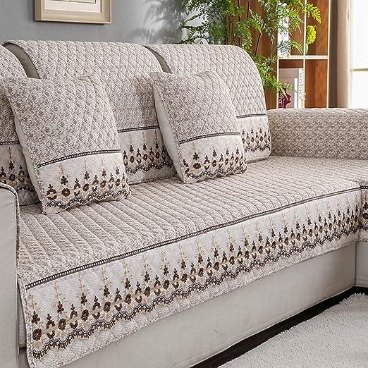 Sofá cubre seccional,Sofa slipcover moderno simple Tela ...