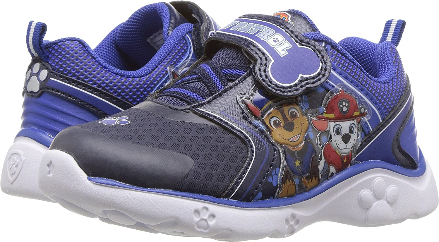 Josmo Boys Light up Paw Patrol Athletic Shoes (Toddler/Little Kid) Navy/Blue (11 M US Little Kid) Josmo Kids