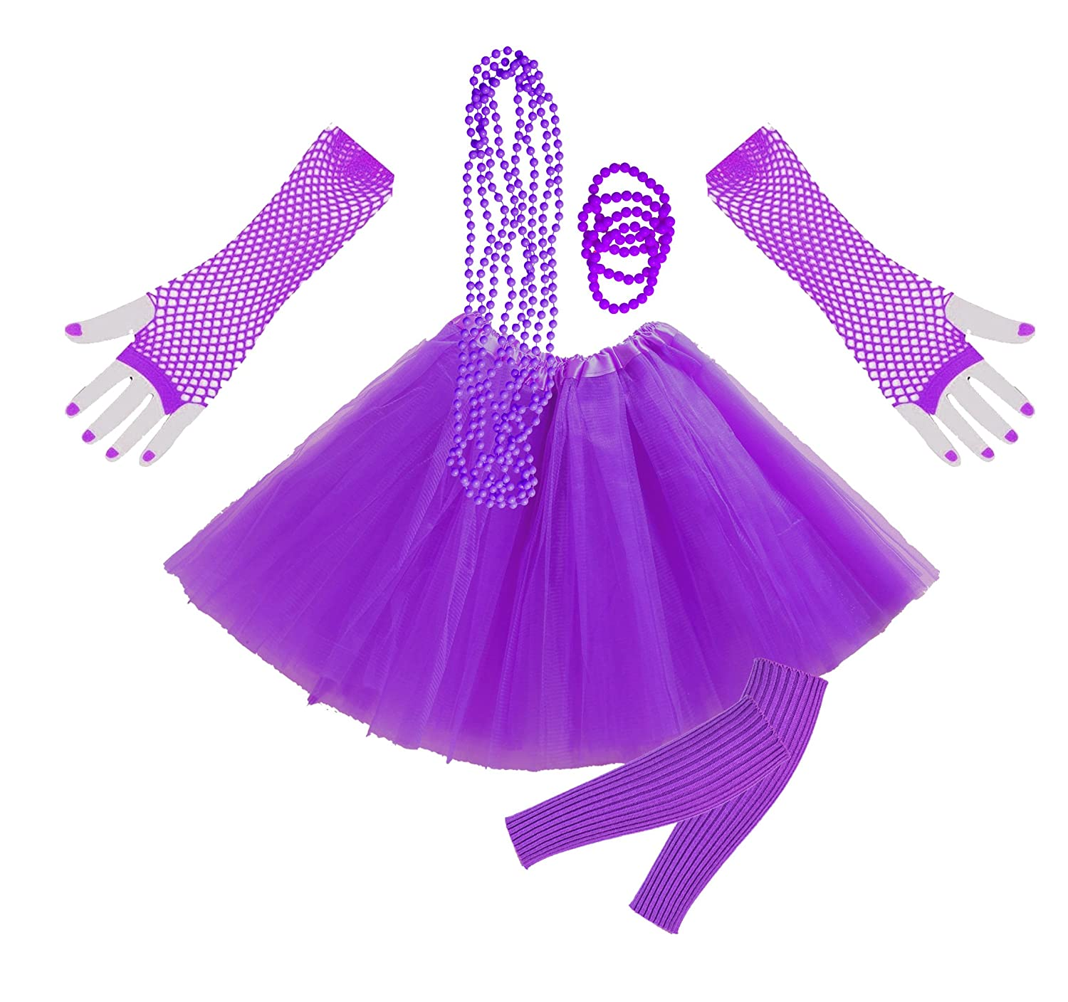 Ladies Accessories Set for quick and easy 80s dress-up