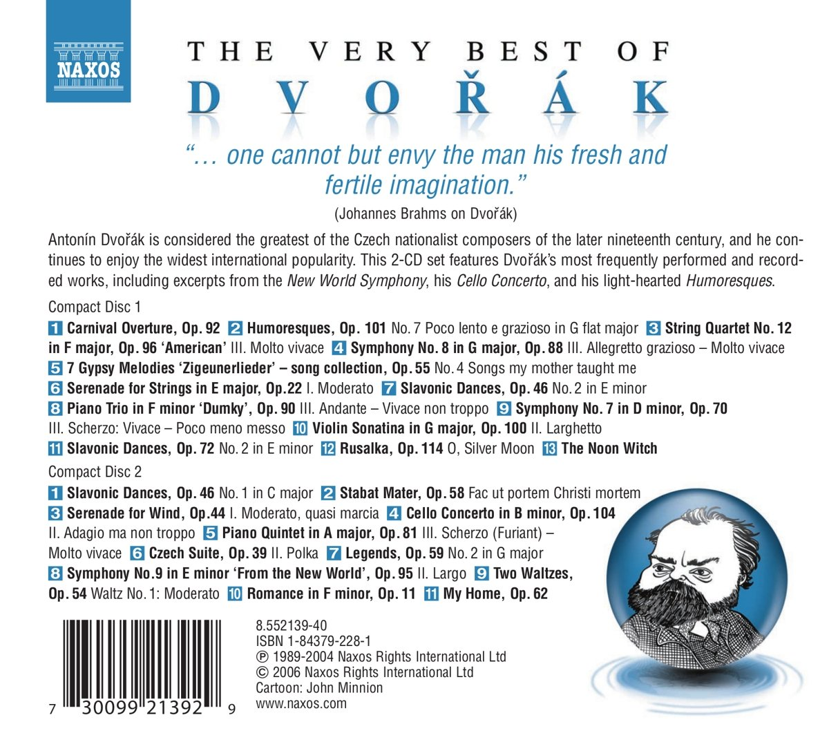 Dvorak:  Very Best Of by Naxos Best Of...