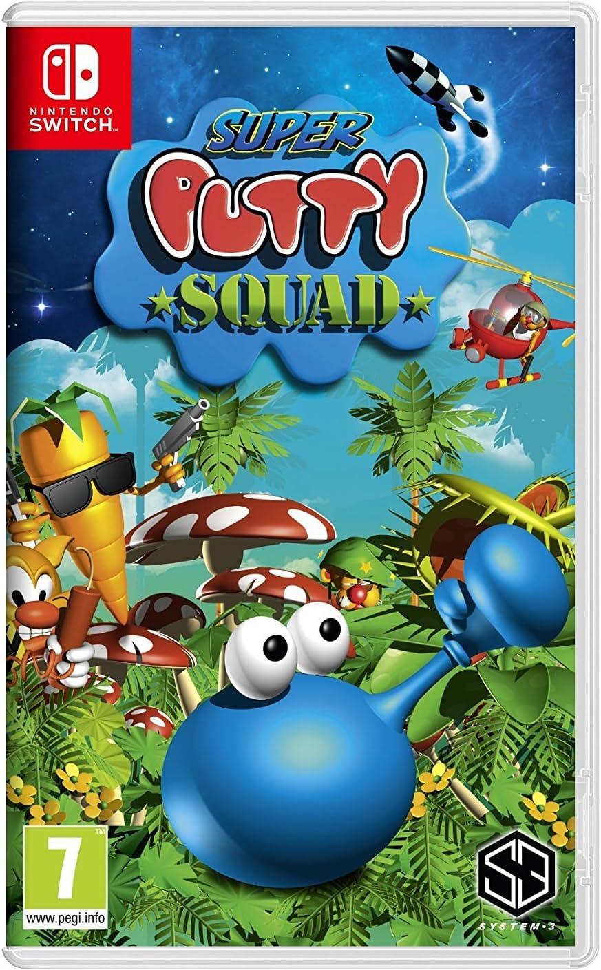 Amazon com: Super Putty Squad (Nintendo Switch) UK IMPORT