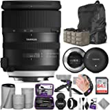 Tamron SP 24-70mm f/2.8 Di VC USD G2 Lens for Nikon F + Tamron Tap-in Console with Altura Photo Advanced Accessory and…