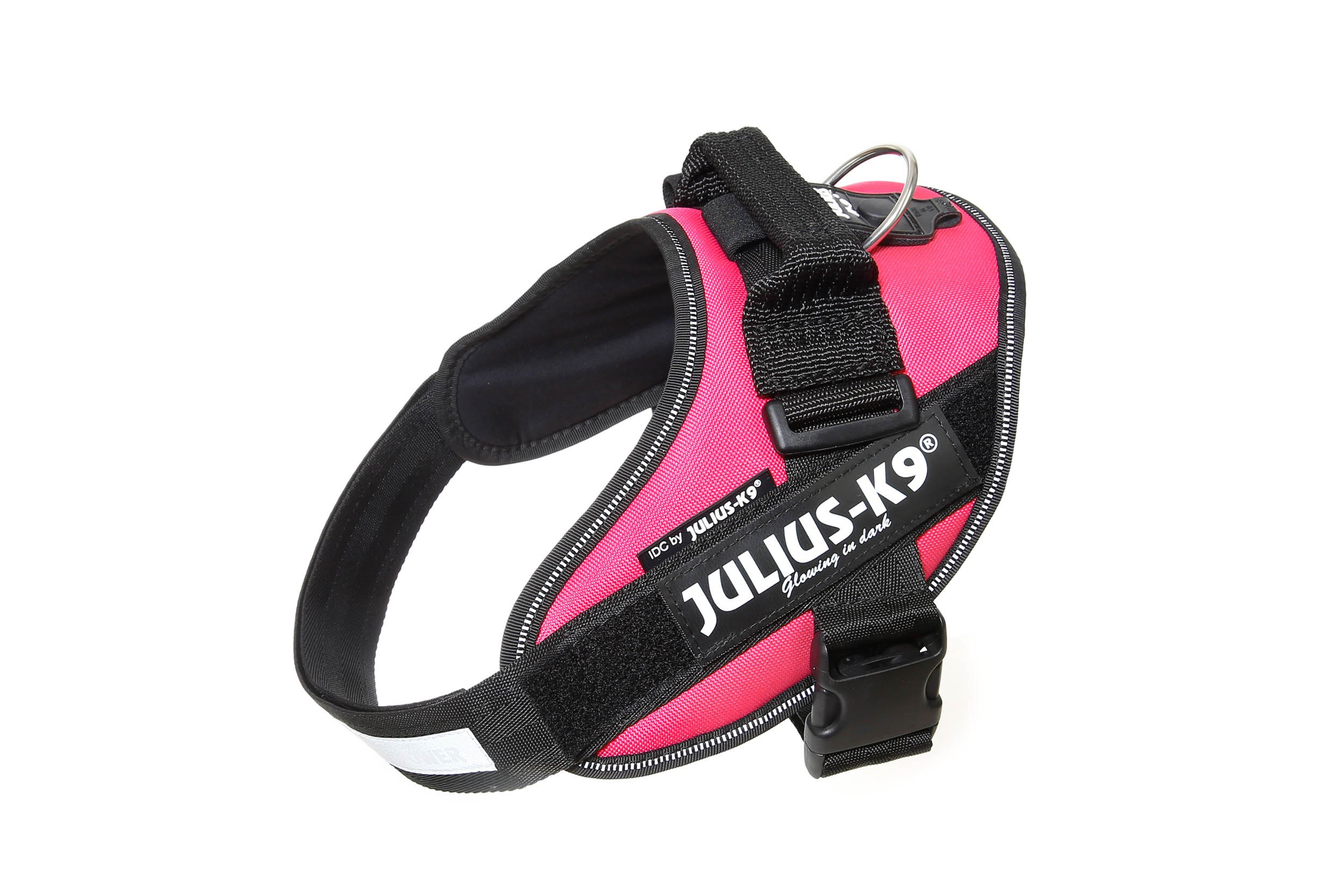 Julius-K9 16IDC-DPN-0 IDC Power Harness, Size: 0 (58-76cm/23-30), Dark Pink by Julius-K9 (Image #1)