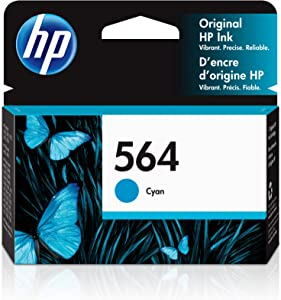 HP 564 | Ink Cartridge | Cyan | CB318WN