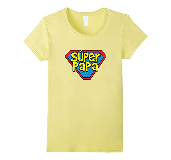 Amazon.com: Super Dad - Spanish Papa Father Superhero Tshirt Shirt Tee: Clothing