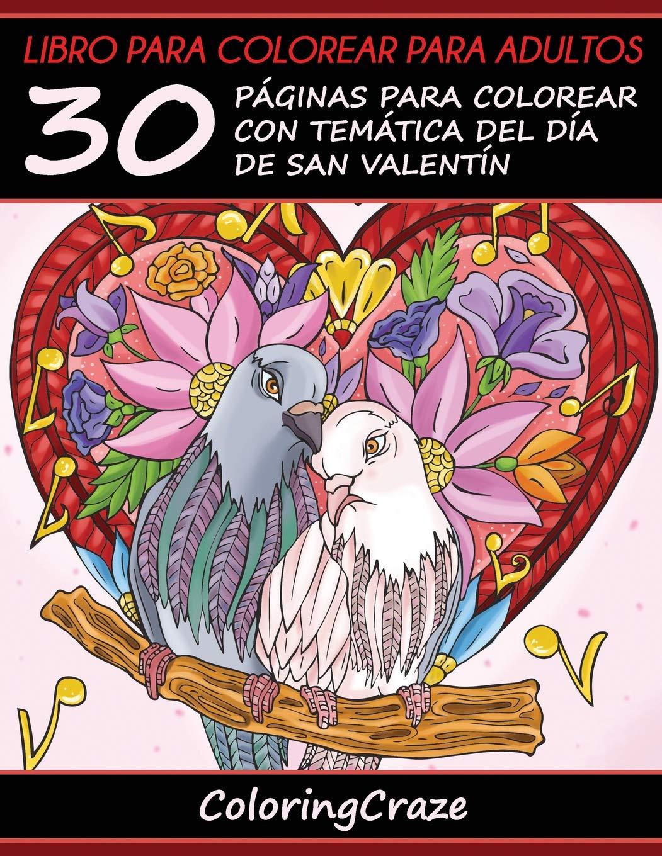Libro para colorear para adultos: 30 Páginas para Colorear con ...