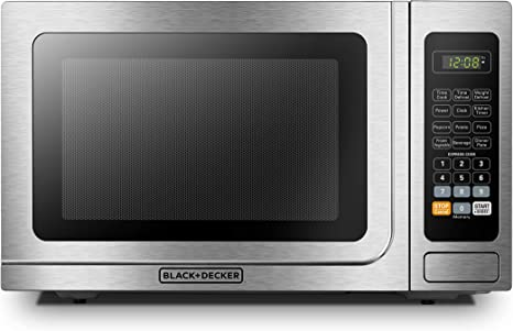 Amazon.com: BLACK+DECKER Microondas digital con puerta ...