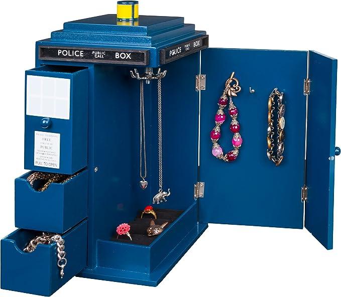 Tardis Wooden Jewelry Box