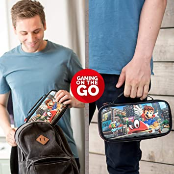 Nintendo Switch Super Mario Odyssey Carrying Case