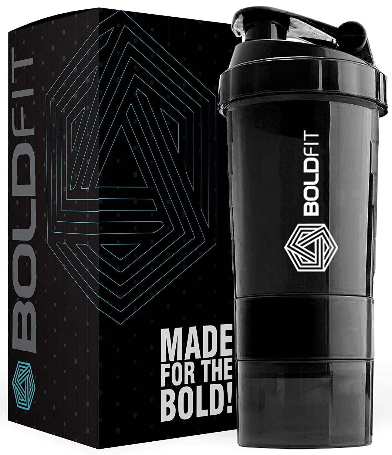Boldfit Gym Spider Shaker Bottle 500ml