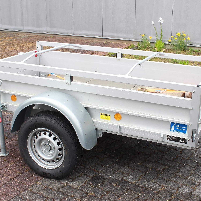 Trutzholm 2x Alu Bügel Xl Für Anhänger Flach Planen Verstellbar 1300 2100mm Planenstütze Auto
