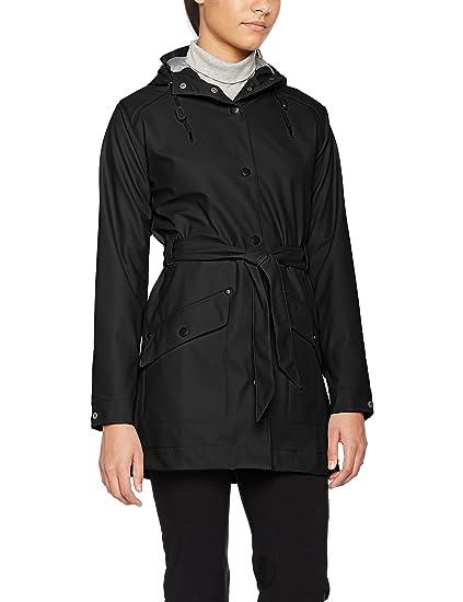 Helly Hansen Women's Kirkwall Rain Coat, Black, X-Small
