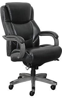 Amazoncom La Z Boy Bellamy Executive Bonded Leather Office Chair