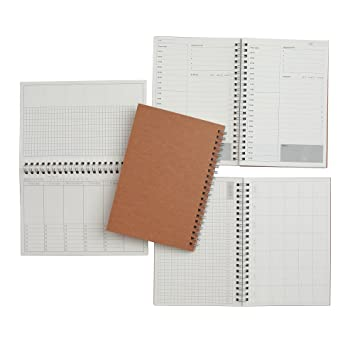 amazon com time management manual and planner set of three 48