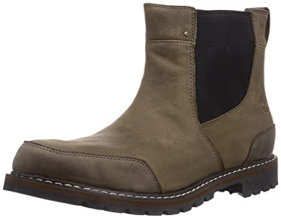 Timberland Men's Chestnut Ridge Chelsea Boot,Brown Oiled,11 ...