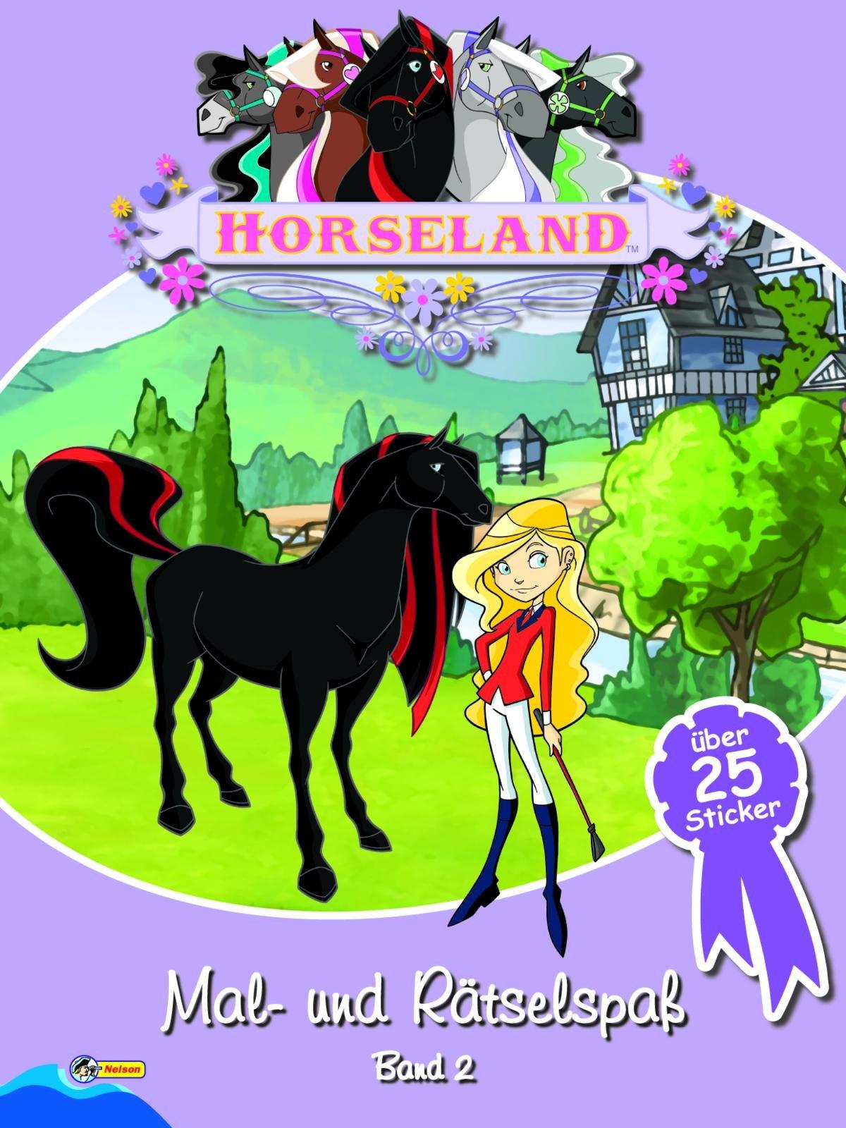 Horseland Mal-und Rätselspaß Band 2: Mit über 25 Stickern