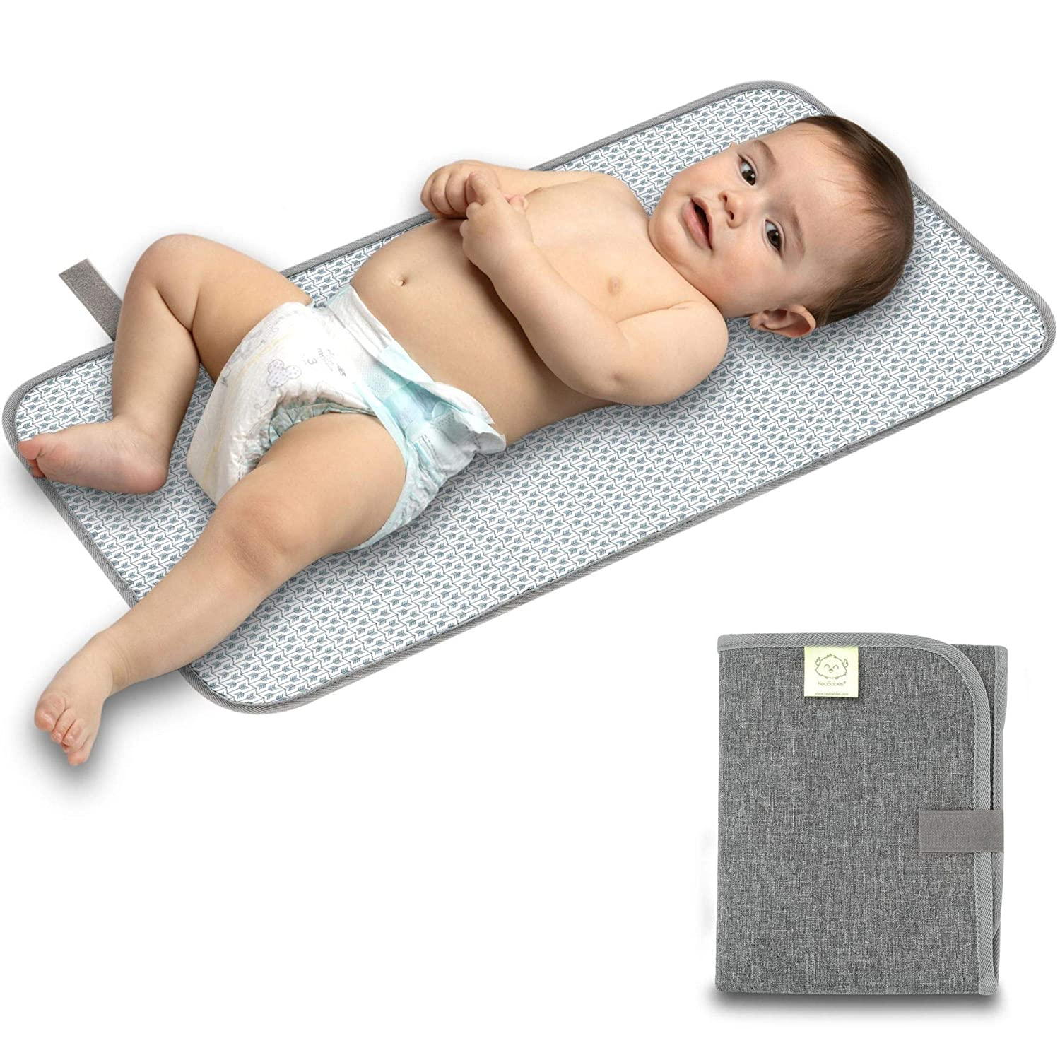 Portable Changing Pad Waterproof Diaper Change Mat Large Size Multi-Function Mat Any Places Bed Play Stroller Crib Car Mattress Pad Cover Home /& Travel Frog /& Giraffe, XL 27.56 x 47.2 Inch