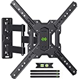 USX MOUNT TV Wall Mount for Most 26-55 Inch TVs, Full Motion TV Mount with Swivels, Tilts & Extends, TV Bracket Perfect Cente